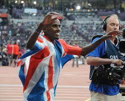 El atleta británico de origen somalí Mo Farah