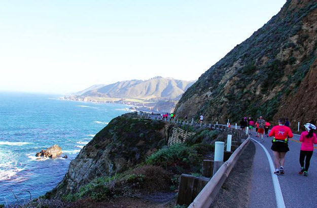 Maratón Big Sur (California)