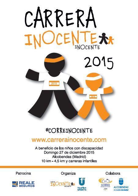 Carrera Solidaria Inocente Inocente - 27 de diciembre. La Fundación Inocente Inocente acerca a los corredores su labor de ayuda a menores necesitados