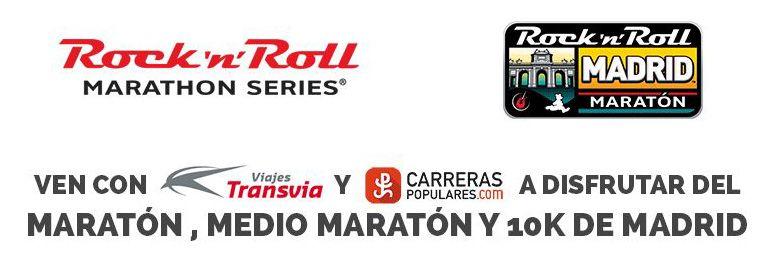 Ven a disfrutar del Maratón de Madrid con carreraspopulares.com y Transvia