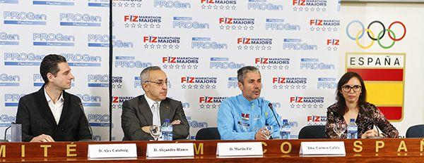 Martín Fiz ha presentado hoy su gran desafío: FIZ MARATHON MAJORS