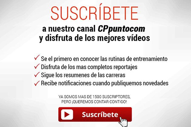 Suscribe nuestro canal de Youtube para se el primero en conocer las novedades