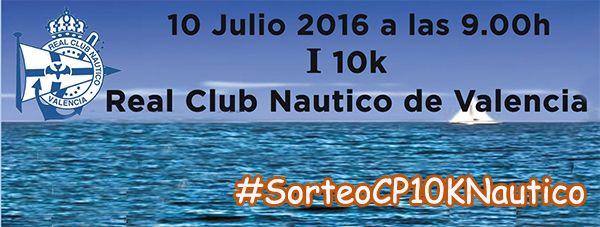 Participa en el concurso del 10K Real Club Nautico Valencia