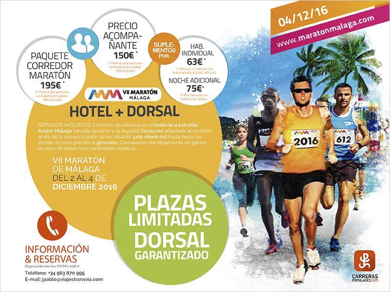 Viaja con nosotros al Maratón Cabberty Málaga