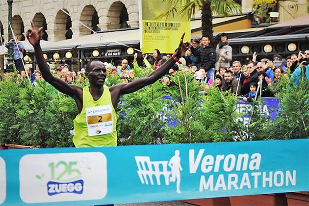 Maratón de Verona, una