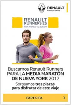 Renault te invita a la Media Maratón NY