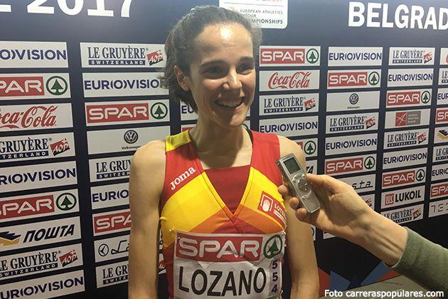 Ana Lozano - Campeonato de Europa Belgrado 2017 - finalista 3.000 metros. Mejor marca personal con 8.55.20 y 6ª en el campeonato de Europa
