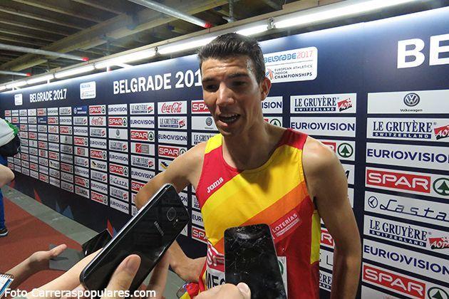 Adel Mechaal campeón de Europa de 3.000 metros en Belgrado 2.017