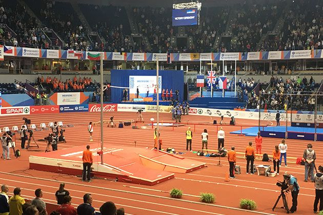 Campeonato Europa en pista cubierta - Belgrado 2.017