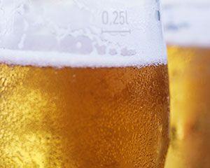 La cervecita (casi siempre SIN) después de correr es un premio