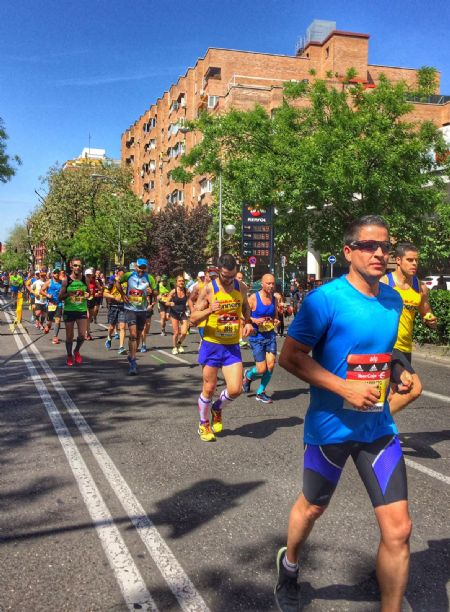 Un momento del Maratón de Madrid del pasado domingo - FOTO: Alicia Calvete