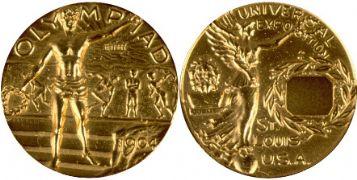 oro san luis 1904