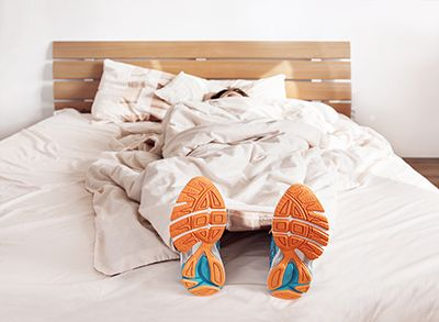 Un runner siempre está preparado para la acción