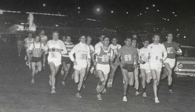 Imagen de la San Silvestre Vallecana en 1968