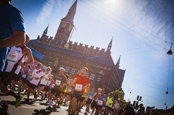 Participantes en un maratón internacional