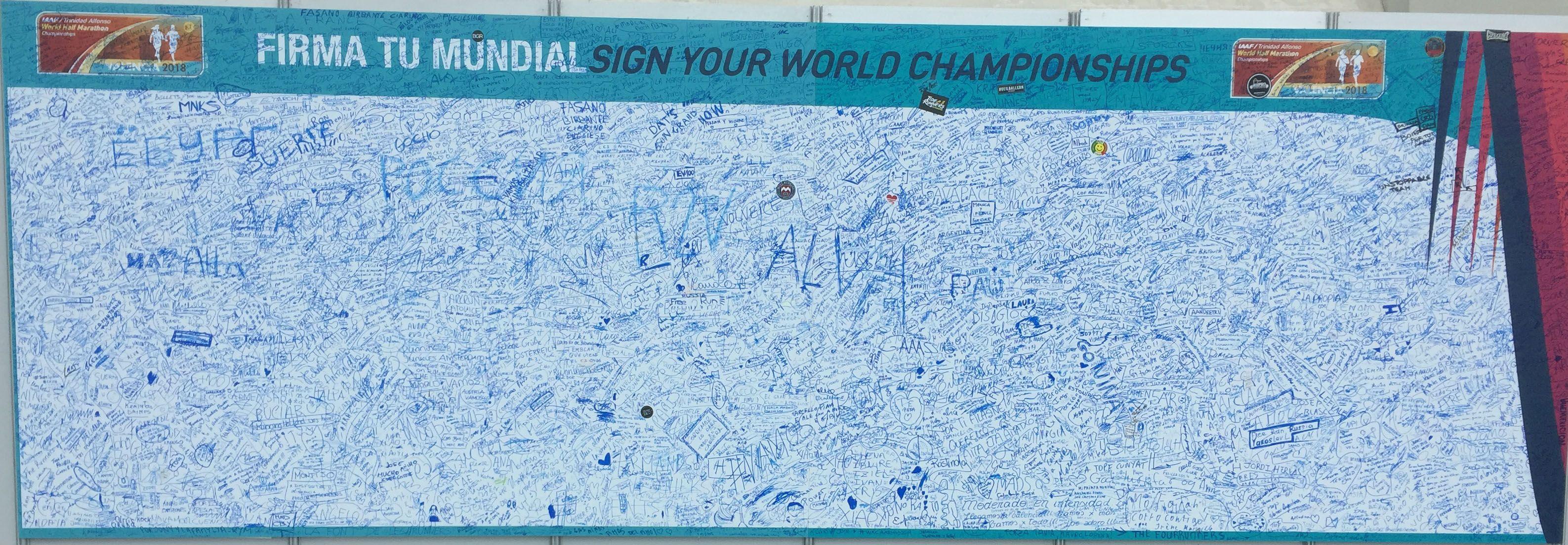 Enhorabuena a los más de 14.000 participantes del IAAF Mundial de Valencia