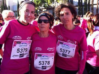 Manuela con sus hijas Sonia y Yolanda