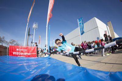 El circuito Sanitas Marca Running Series tiene también actividades para niños