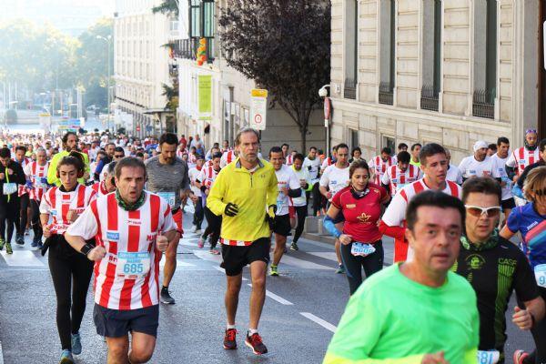 Imagen de la Sanitas Marca Running Series de Madrid en 2017