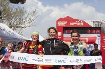 Podium campeonato femenino