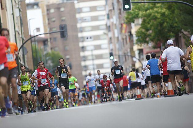 Imagen Sanitas Marca running series Zaragoza 2018