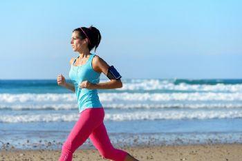 Cualquier lugar de vacaciones es bueno para correr