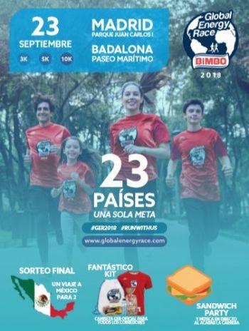 Cartel de la Bimbo Global Energy Race en España