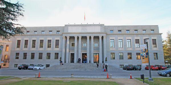 Edificio principal de la sede del CSIC, uno de los escenarios de La Casa de Papel