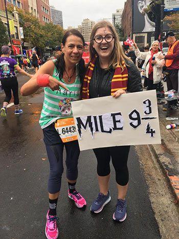 ¿Harry Potter también corría?