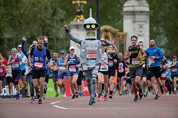 Ni los robots se quieren perder esta carrera.
