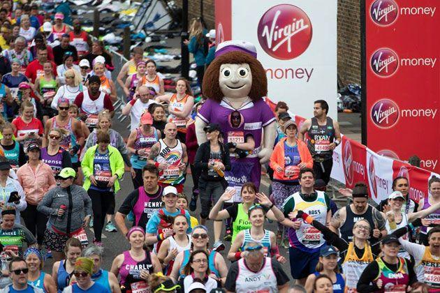 Fotos obtenidas de la página oficial de Facebook del Maratón de Londres