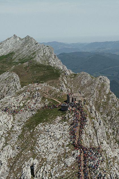 XVIII Zegama-Aizkorri Mendi Maratoia. Foto Sergi Colomé