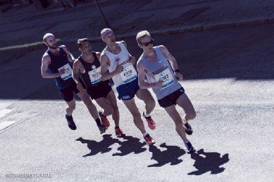 Muchos corredores se apuntan a las carreras sin son rápidas