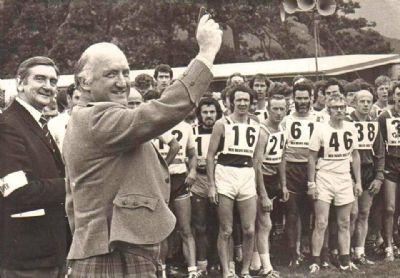 Salida de la Ben Nevis Race en los años 70 (Facebook Ben Nevis Race)