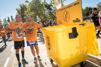 Ecoembes y la Media Maratón de Valencia