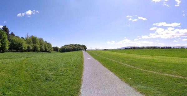 Imagen del Phoenix Park, el pulmón de Dublín, escenario de varias carreras