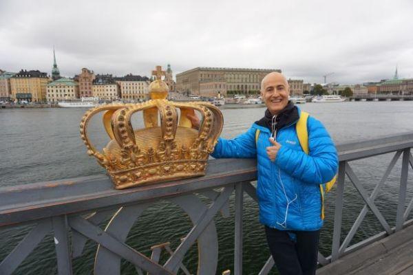 Nacho Villalba, luchando contra el cáncer en Estocolmo