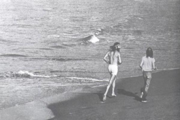 Una de las fotografías que ilustran el libro The Zen of Running, de Fred Rohe
