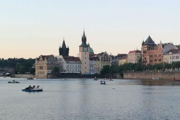La ciudad de Praga tiene lugares interesantes por los que correr