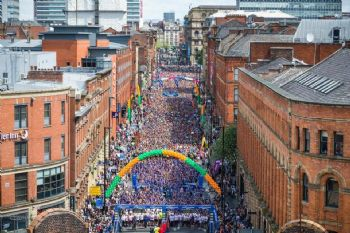 Salida de la Great Manchester Run (Facebook oficial de la carrera)