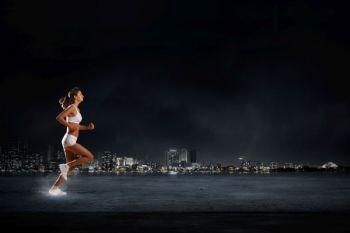 La ciudad, por la noche, está más tranquila para correr