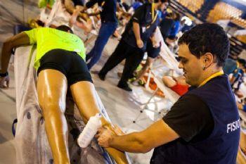 Muchos corredores no tienen claro cómo debe ser el masaje post competición