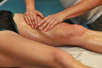 Si hay lesiones, hay que esperar unos días para el primer masaje