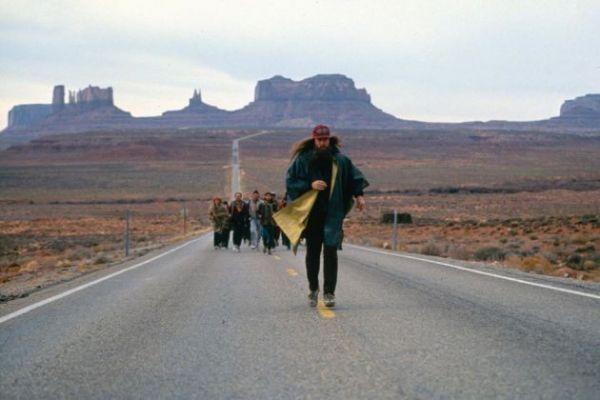 Forrest Gump en Monument Valley, antes de parar de correr