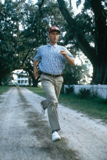 Un momento de la película Forrest Gump