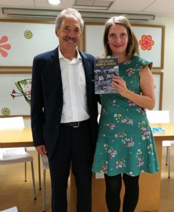 Ramiro Matamoros y su hija Itziar, autora del libro