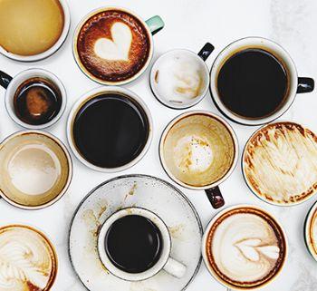 El café, el té o el chocolate puede interferir en la absorción de hierro.