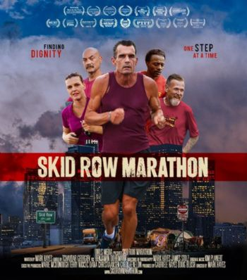 Cartel del documental Skid Row Marathon