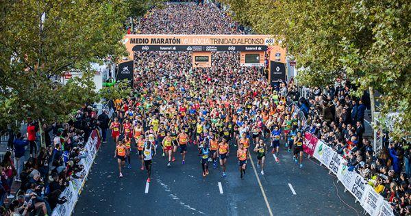 Todos los corredores pasan por varias fases durante un maratón
