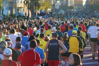 Los corredores deben mantener la calma en los primeros metros